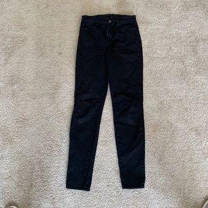 J Brand Maria Black Jeans